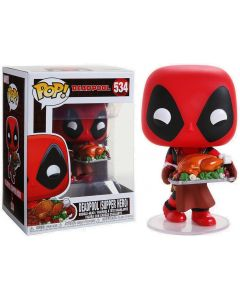 Marvel - Pop! - Holiday Deadpool n°534