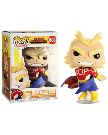 My Hero Academia - Pop! - Silver Age All Might n°608