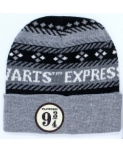 Harry Potter - Bonnet gris Platform 9 3/4