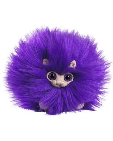 Harry Potter - Peluche Pygmy Puff (Boursouflet) violet 15 cm