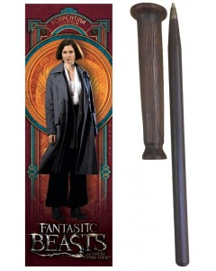 Fantastic Beasts - Stylo baguette + marque-page Porpentina Goldstein