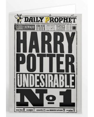 Harry Potter - Carte de voeux Undesirable n°1