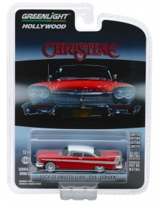 Christine - 1/64 1958 Plymouth Fury Evil Version