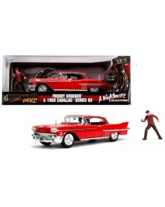 Nightmare on Elm Street - Hollywood Rides - 1/24 1958 Cadillac w/ Freddy Krueger