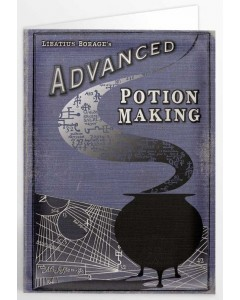 Harry Potter - Carte de voeux Advanced Potion Making