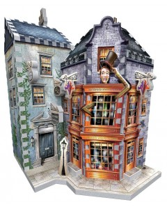 Harry Potter - Puzzle 3D Weasley's Wizard Wheezes & Daily Prophet