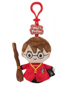 Harry Potter - Bag clip porte-clé peluche Harry Quidditch