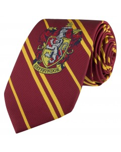 Harry Potter - cravate écusson tissé Gryffindor