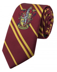 Harry Potter - cravate Enfant écusson tissé Gryffindor