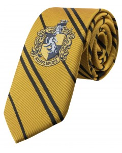 Harry Potter - cravate Enfant écusson tissé Hufflepuff