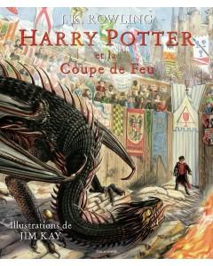 Harry Potter Tome 4 : Et la Coupe de Feu (illustré)