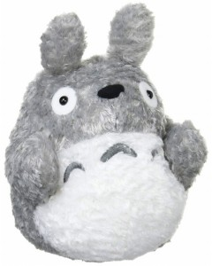 Mon voisin Totoro - peluche Totoro gris marionnette