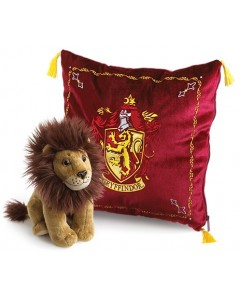 Harry Potter - Coussin + peluche Gryffindor