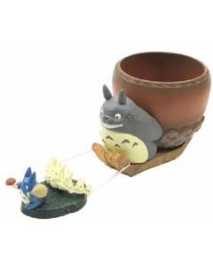 Mon voisin Totoro - Vase pot décor Traineau