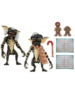 Gremlins - 2-Pack Set 1 : Figurines Xmas Carol Winter Scene