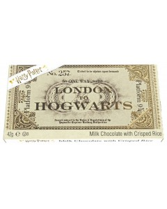 Harry Potter - Chocolat Hogwarts Express Ticket (42 grammes)