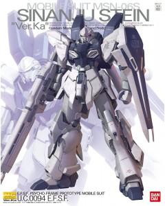 Gundam - MG 1/100 MSN-06S Sinanju Stein Ver. KA