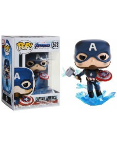 Marvel : Avengers Endgame - Pop! - Captain America Mjolnir n°573