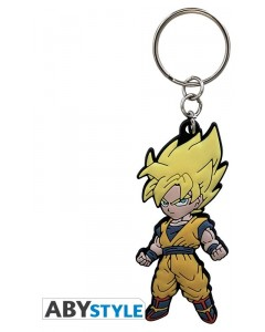 Dragon Ball - porte-clé PVC Goku Super Saiyan SD