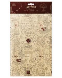 Harry Potter - 2 feuilles de papier cadeau Marauder's Map (50 x 70 cm)