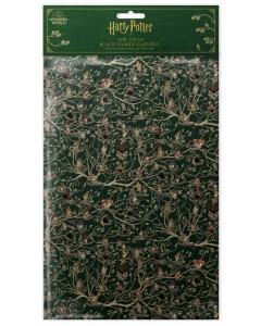 Harry Potter - 2 feuilles de papier cadeau Tapisserie des Black (50 x 70 cm)
