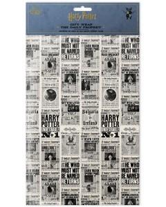 Harry Potter - 2 feuilles de papier cadeau The Daily Prophet (50 x 70 cm)
