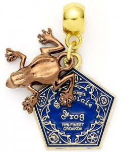 Harry Potter - Breloque Chocolate Frog (Chocogrenouille)