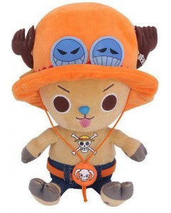 One Piece - Peluche Chopper x Ace 11 cm