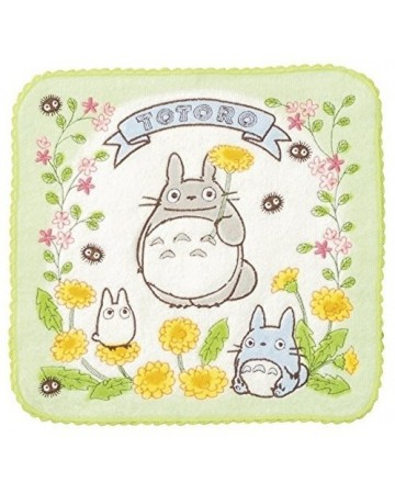 Mon voisin Totoro - Serviette 25 x 25 Printemps
