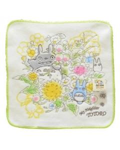 Mon voisin Totoro - Serviette 25 x 25 Bouquet Printemps