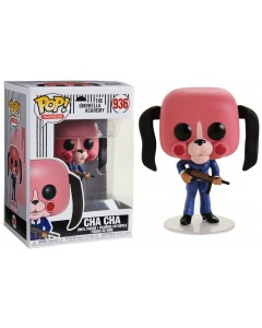 The Umbrella Academy - Pop! - Cha Cha w/mask n°936