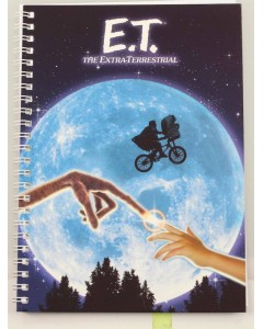 E.T. l'Extra-terrestre - Carnet A5 spirales Movie Poster