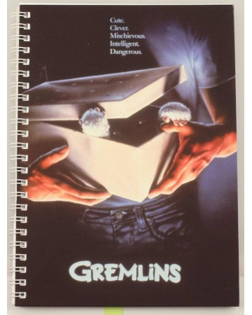 Gremlins - Carnet A5 spirales Movie Poster