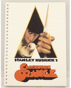 A Clockwork Orange - Carnet A5 spirales Movie Poster