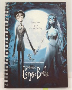 Corpse Bride (Les Noces Funèbres) - Carnet A5 spirales Movie Poster