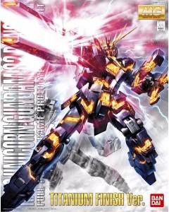Gundam - MG 1/100 RX-0 Unicorn Gundam 02 Banshee Titanium Finish Ver.