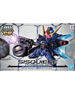 Gundam - SD Gundam Cross Silhouette Sisquied (Titans Colors)