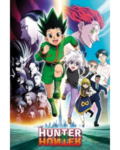 Hunter X Hunter - grand poster Key Art Running (61 x 91,5 cm)