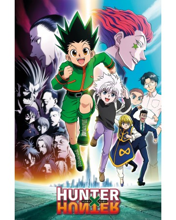Hunter x Hunter - grand poster Key Art Running (61 x 91,5 cm) - Imagin'ères