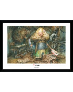 Magic the Gathering - Poster encadré Flaxen Intruder 50 x 70 cm
