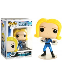 Marvel - Pop! Fantastic Four - Invisible Girl n°558