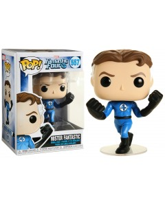 Marvel - Pop! Fantastic Four - Mister Fantastic n°557