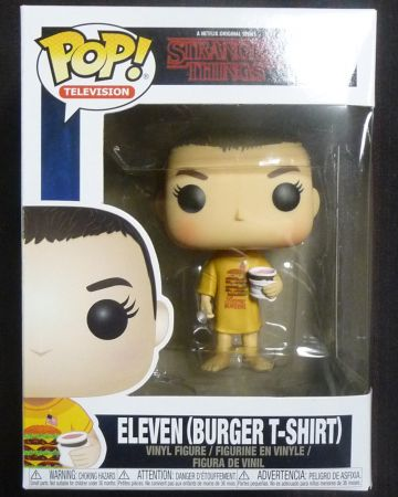Stranger Things - Pop! - Eleven in Burger Tee n°718