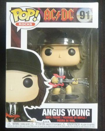 AC/DC - Pop! Rocks - Angus Young n°91 BOITE ABIMEE