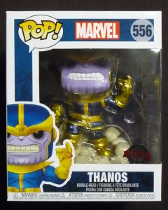 Marvel - Pop! - Thanos Snap 15 cm (exclusive) n°556