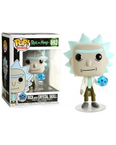 Rick and Morty - Pop! - Rick with Crystal Skull n°692