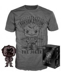DC Comics - Pop! POP! & Tee - Set figurine Pop! + T-Shirt The Joker