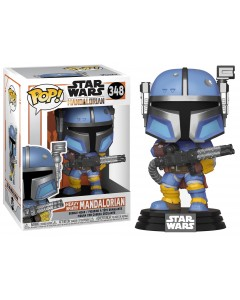 Star Wars : The Mandalorian - Pop! - Heavy Infantry Mandalorian n°348