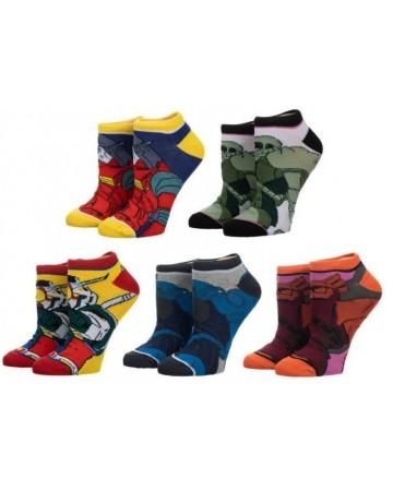 Gundam - 5 paires de chaussettes