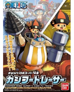 One Piece - Model Kit Chopper Robot Super 4 : Kung Fu Tracer